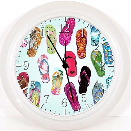 4284754aa84 Ikea Flip Flops Wall Clock 10