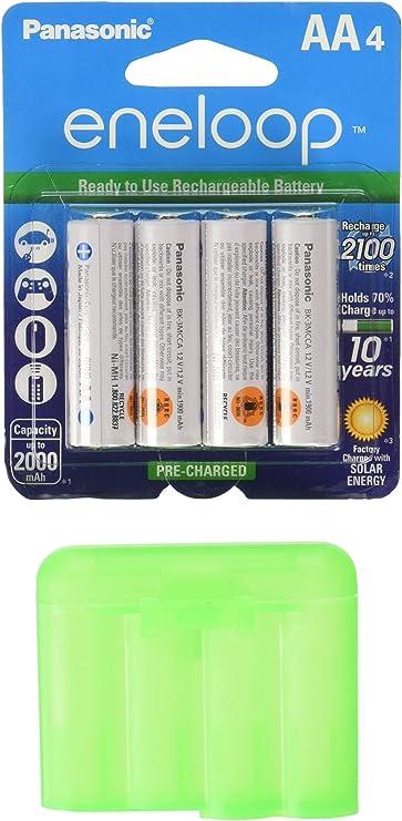 TheLovelyBird 4PCS of AA//AAA 4 Cell Battery Case//Holder