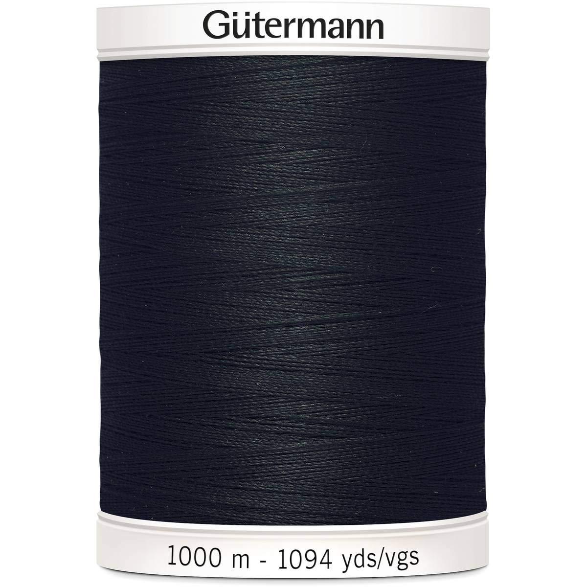 Gutermann Sew-All Thread, Polyester, Black, 1000 m GUT_701939-000-1