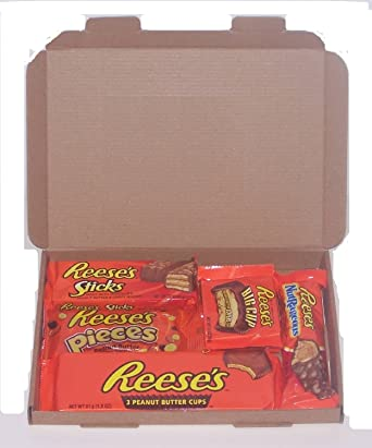 f996031eacfe3f Reese s American Candy Gift Box - Wedding Birthday Party Retro Sweets Reeses  R5