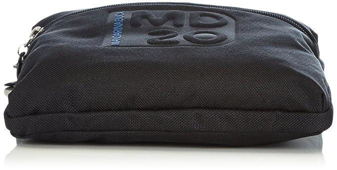 MD20 MINUTERIA BLACK 14116MM3651 Damen Umhängetaschen 2x18x14 cm (B x H x T) Mandarina Duck GETOkTzwE