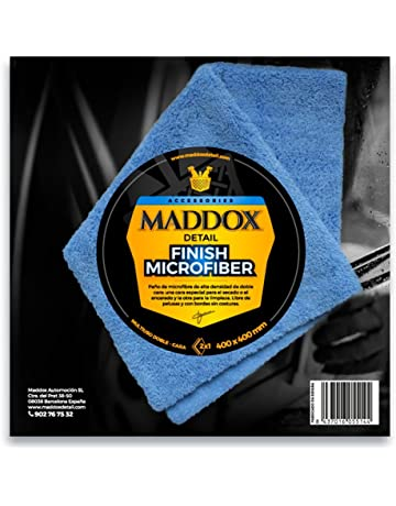 Maddox Detail 70202 Finish Microfiber - Paño de 40 X 40 Cm. Robusto y Sin