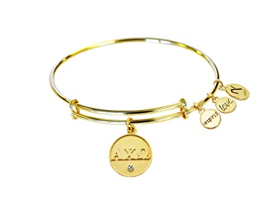 Amazoncom Alpha Chi Omega adjustable Inspired Love Bangle