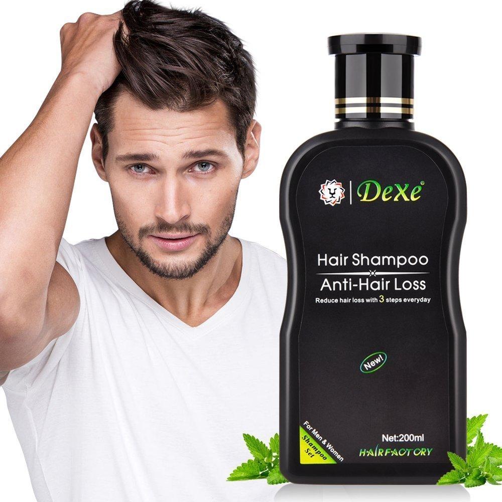 Haarshampoo, Anti-Haarausfall, Anti Haarverlust Haar-Pflegeshampoo, Haar Nachwachsen Haarshampoo, Old Ginger Kräuter Anti-Hair Loss Shampoo, Haar schützen Shampoo Wirksame Lösung für Haarverdünnung & Bruch ,Stärkt das Haar für Männer und Frauen (200ml)