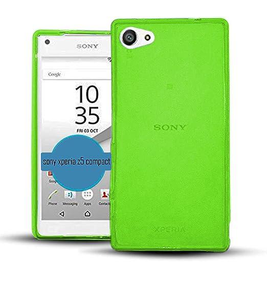 2 opinioni per TBOC® Custodia Gel TPU Verde per Sony Xperia Z5 Compact (Mini) E5803 E5823 in