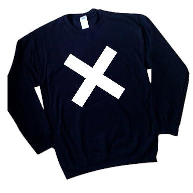 THE XX COEXIST CROSS LOGO T-SHIRT INDIE CROSS CROOKS AMSTERDAM