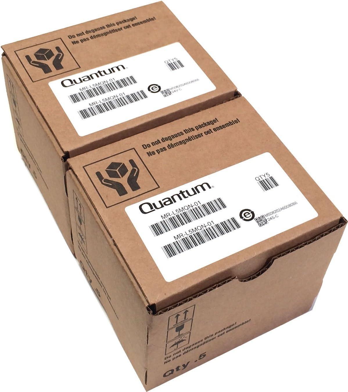 QUANTUM LTO-5 MR-L5MQN-01 ULTRIUM CARTRIDGES 1.5TB 3TB LTO5 TAPES 10 PACK NEW