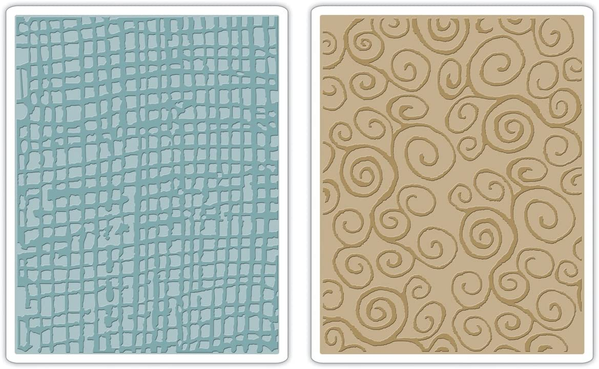 Darice Honeycomb 4.25 x 5.75 inches Embossing Folder Clear