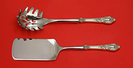 Amazon com | Eloquence by Lunt Sterling Silver Italian Pasta Server