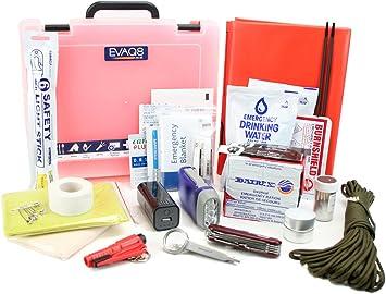 Kit de supervivencia (72 horas híbrida interior al aire libre caja de preparación de emergencia: Amazon.es: Bricolaje y herramientas