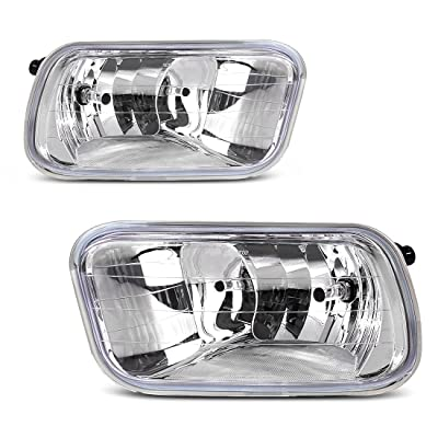 AUTOSAVER88 Fog Lights H10 12V 42W Halogen Lamp Compatible with 09-12 Dodge Ram 1500/2500/ 3500 /Pickup Truck: Automotive