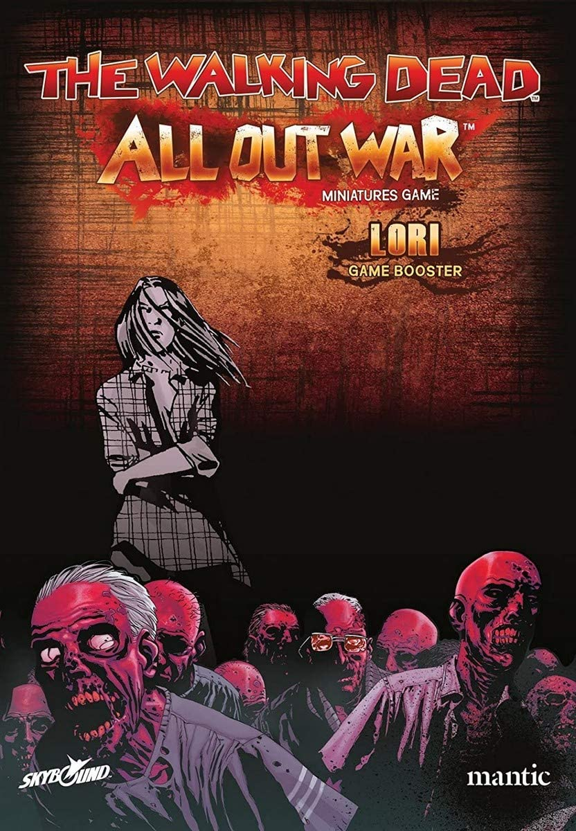 Mantic Games MGWD103 Booster Lori-The Walking Dead: All Out War Multicoloured Oleada 1 Tabletop Game