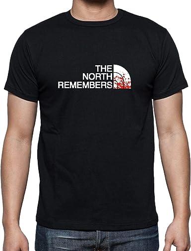 The Fan Tee Camiseta de Hombre Juego de Tronos Stark Tyrion North Daenerys Khaleesi Face Arya: Amazon.es: Ropa y accesorios
