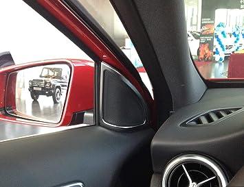 Alamor 5Pcs Air Outlet Decorative Ring For Mercedes Benz A Class A180 A200...