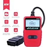 [2018 Upgraded] Autmor OBD2 Scanner Auto Car OBDii 2 Code Reader CAN Diagnostic Scan Handheld Tool Check Engine Light Trouble Codes Vehicle