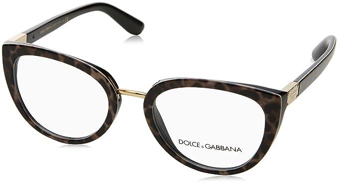 d97d15fd99bb Image Unavailable. Image not available for. Color: Dolce & Gabbana Women's  DG3262 Eyeglasses ...