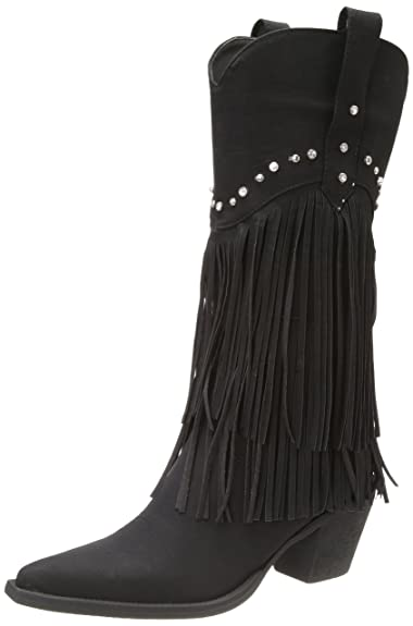 5a01289140d Amazon.com | Roper Women's Fringe and Stud Western Boot | Shoes