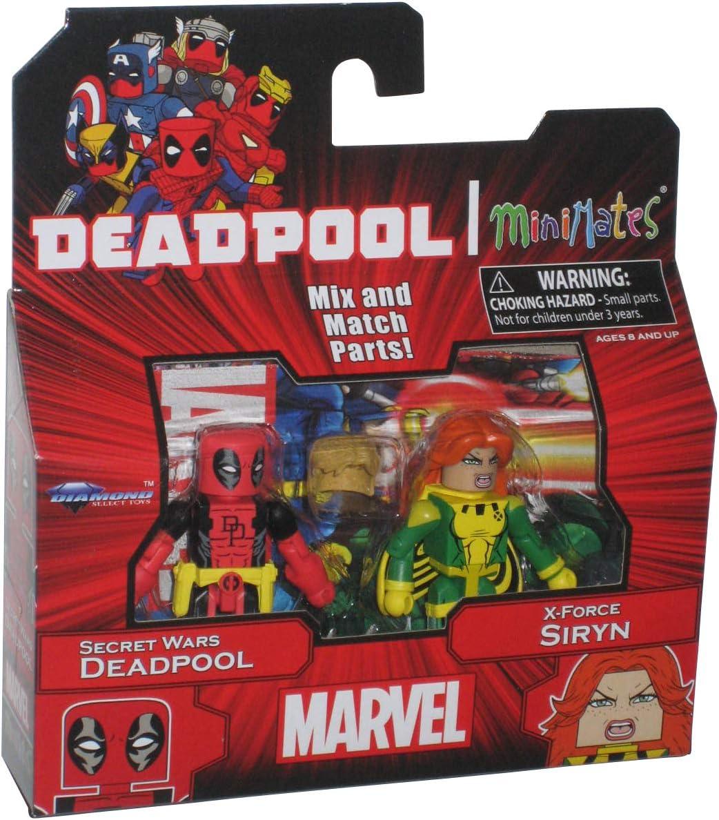 Marvel Minimates SDCC X-Force First Appearance Deadpool