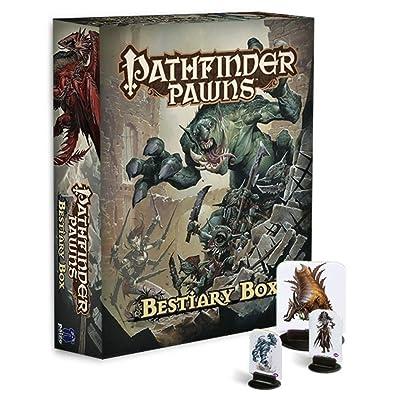 Pathfinder Pawns: Bestiary Box: Paizo Staff: Juguetes y juegos
