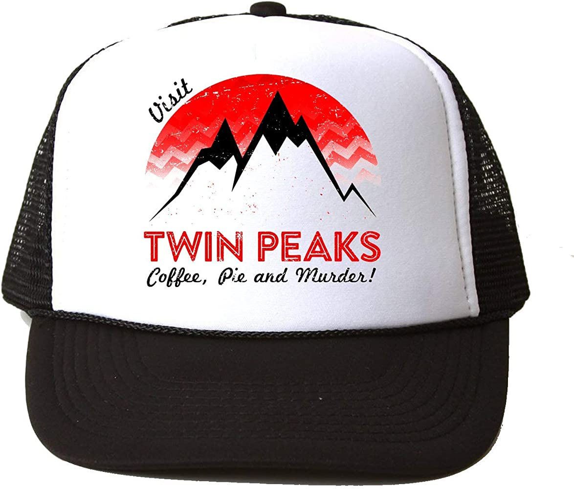 KRISSY Twin Peaks TV Show Series Logo Icon Visit Coffee Pie ...