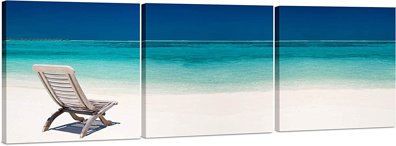 "24/""x36/"" Beach Mature Women Canvas Art Paintings Poster Decor Wall Prints"