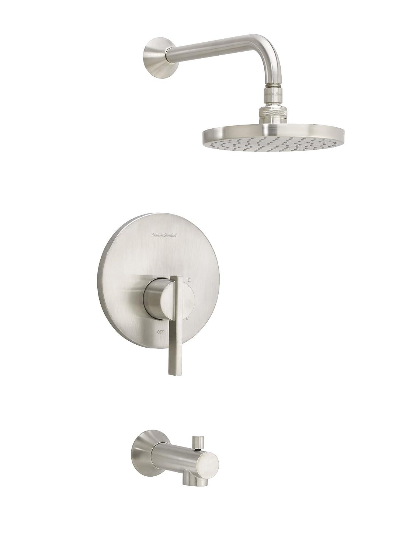 Bathroom Renovations Berwick - American standard t430502 002 berwick pb bath and shower trim polished chrome single handle tub and shower faucets amazon com