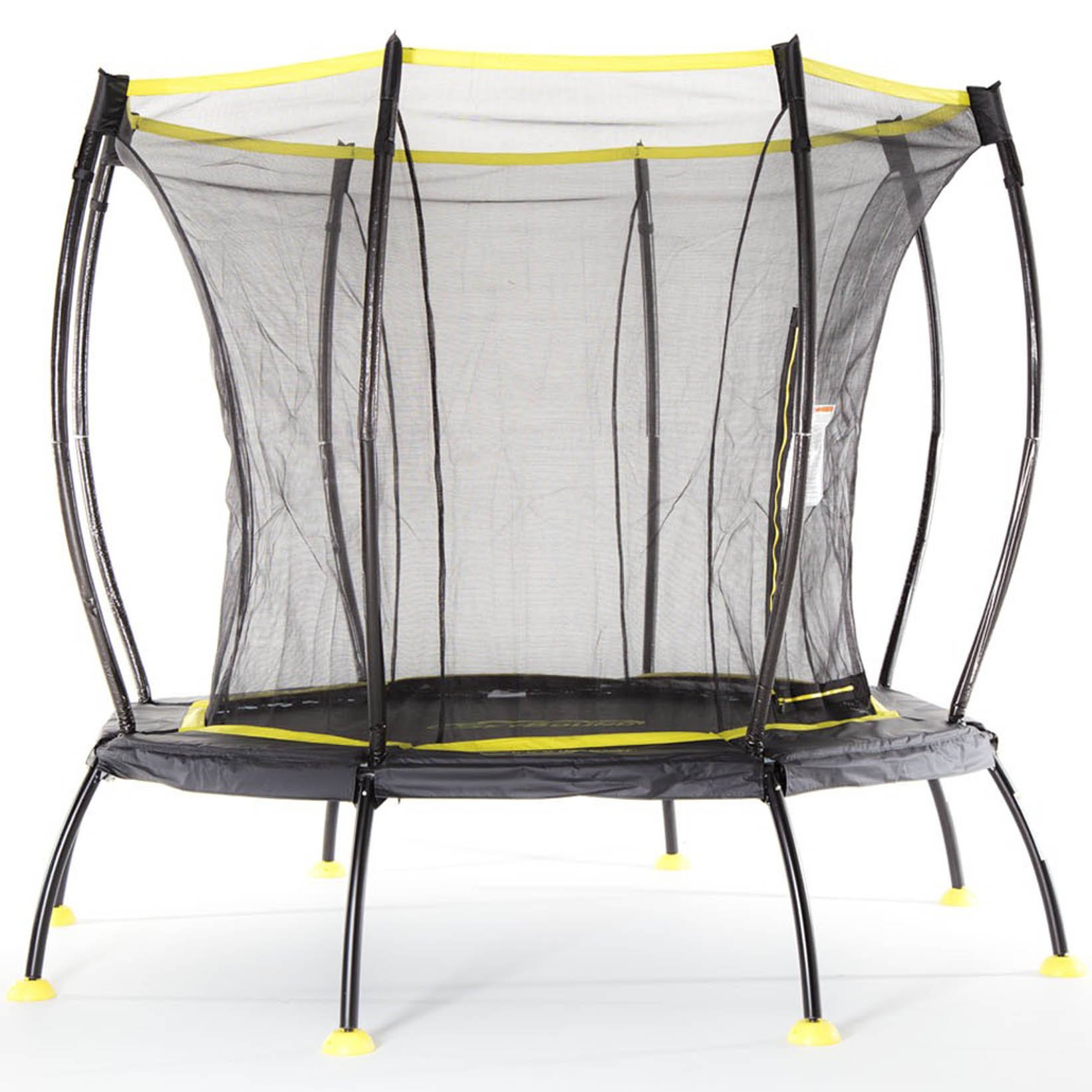 SkyBound Atmos Trampoline with Full Enclosure Net System, 8'
