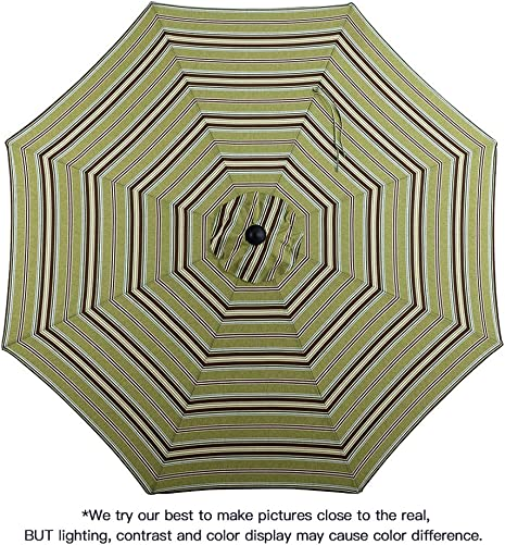 Tempera 9 Ft Patio Umbrella Outdoor Garden Table Umbrella