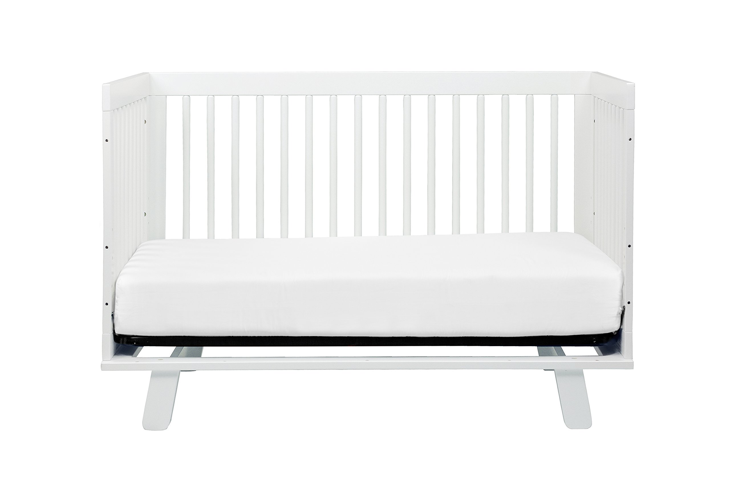 Babyletto Hudson 3-in-1 Convertible Crib with Toddler Bed Conversion Kit, White by babyletto (Image #8)