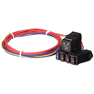 Painless Performance 70213 Cirkit Boss Weather Sealed Auxiliary Fuse Block, 3 Ignition-Hot Circuits: Automotive