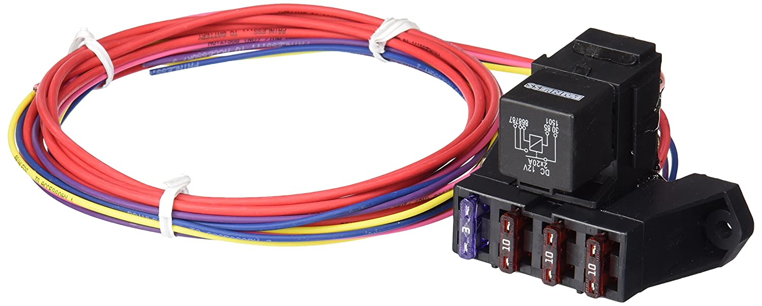 painless wiring for auxiliary fuse block diagram auto fuse