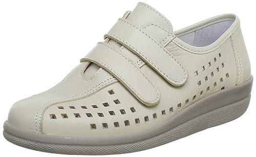 Comfortabel 940793 - Mocasines de cuero para mujer, Beige, 40: Amazon.es: Zapatos y complementos