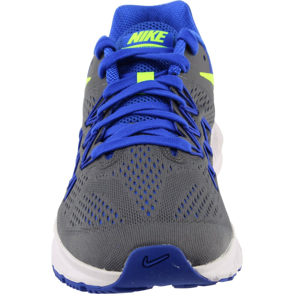 NIKE Mens Zoom Winflo 3 Fitsole Cushlon Running US|Dark Shoes B019DG08J4 9 D(M) US|Dark Running Grey/Volt/Racer Blue/White 0566ce