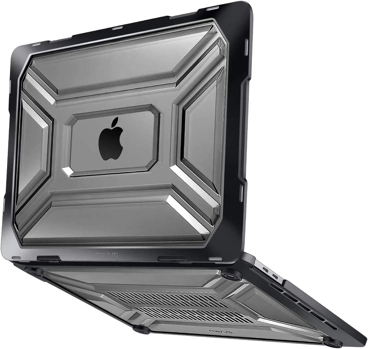 MOSISO MacBook Pro 16 inch Case 2019 Release A2141 with Touch Bar /& Touch ID Heavy Duty Plastic Hard Shell Case with TPU Bumper /& Keyboard Cover Only Compatible with MacBook Pro 16 inch Black