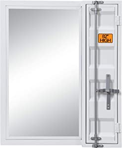 ACME Cargo Vanity Mirror - - White