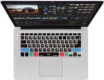 Davinci Resolve Funda para MacBook Pro y iMac Inalámbrico Teclados