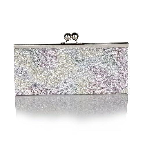 Lotus Kezi de loto broche de plata de con el texto en seda para mujer de con estampado impreso: Amazon.es: Zapatos y complementos