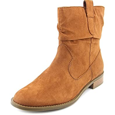 Pagee Women Round Toe Synthetic Ankle Boot