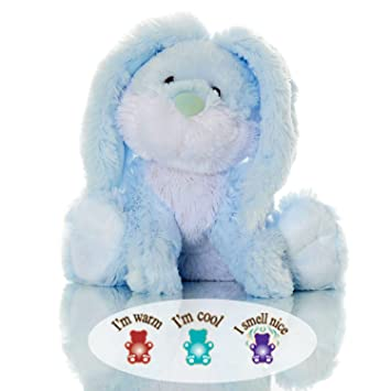 Amazon toasty reggie blue bunny lavender aromatherapy toasty reggie blue bunny lavender aromatherapy microwavable stuffed animal hot cold therapy altavistaventures Images