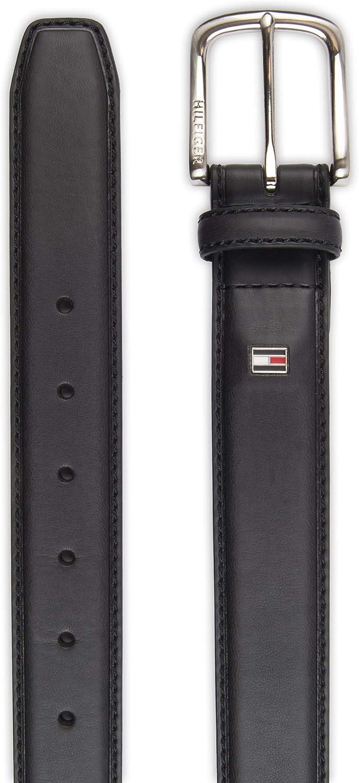 Tommy HILFIGER Edge colored Loop Belt Cintura in Pelle Cintura