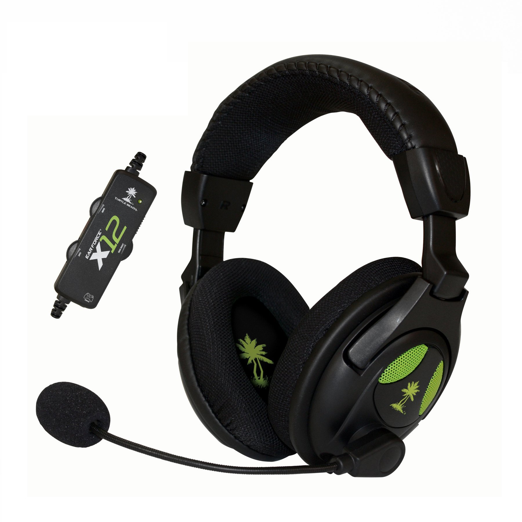 Turtle Beach - Ear Force X12 Amplified Stereo Gaming Headset - Xbox 360 (Discontinued by Manufacturer) (Renewed) by Turtle Beach