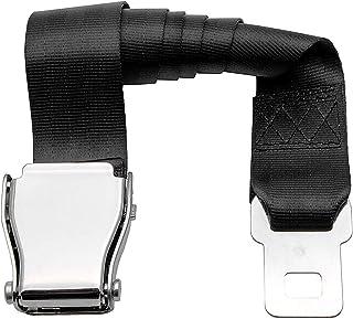 Universal Airplane Seat Belt Extender MASO Commercial Plane Aircraft Airplane Airline Seat Belt Extension Extender Buckle - 850mm Length, 48mm Width
