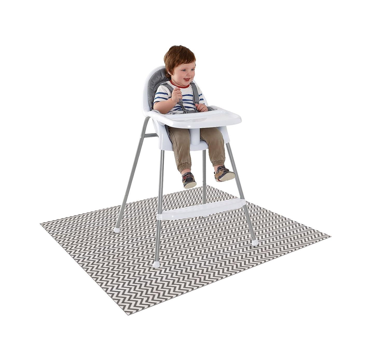 amazon com splat mat 2 in 1 high chair floor protector high