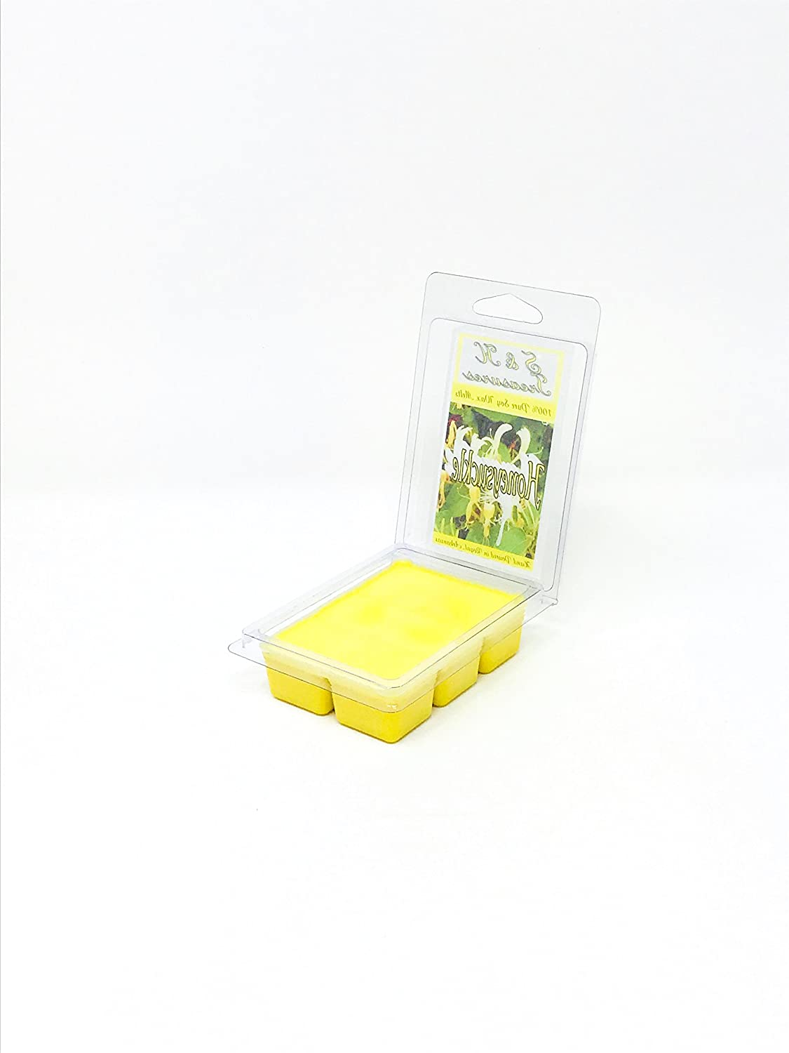 6 cubes Honeysuckle Pure Soy Wax Melts Floral Scents 1 pack