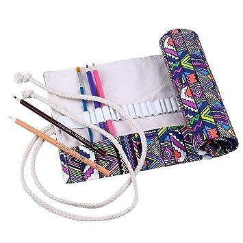 Cobee-Bolsa de tela, diseño de lápices de colores ...