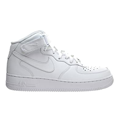 Nike Air Force 1 Mid '07 LE Women's Shoes White/White 366731-100