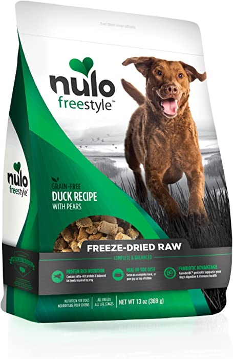 Top 9 Nulo Duck Dog Food