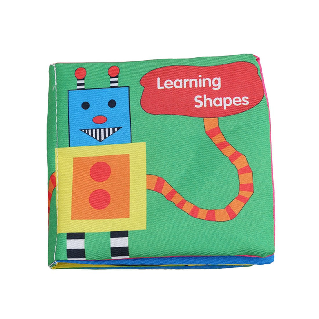 Edtoy Soft Baby Early Education Development English Cloth Book, Perfect Baby Shower Gift