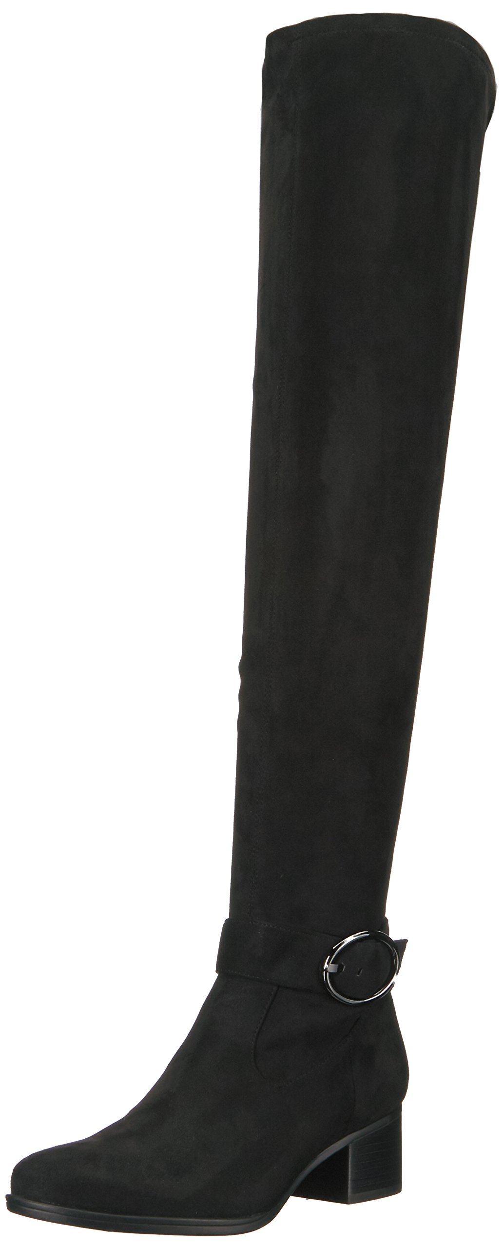 Naturalizer Women's Dayln Slouch Boot, Black, 12 M US