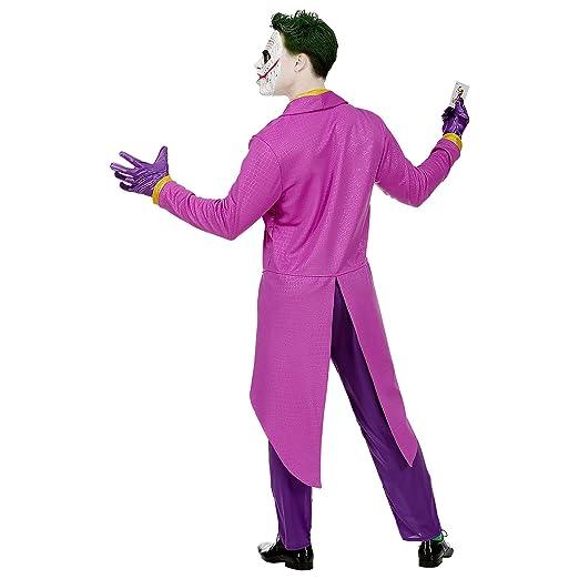 WIDMANN Srl disfraz Mad Joker hombre y adultos, Multicolor ...